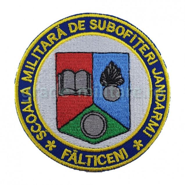 Emblema Scoala Militara de Subofiteri de Jandarmi FALTICENI
