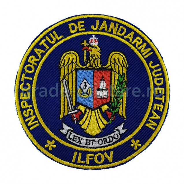 Emblema inspectoratul judetean de jandarmi Ilfov