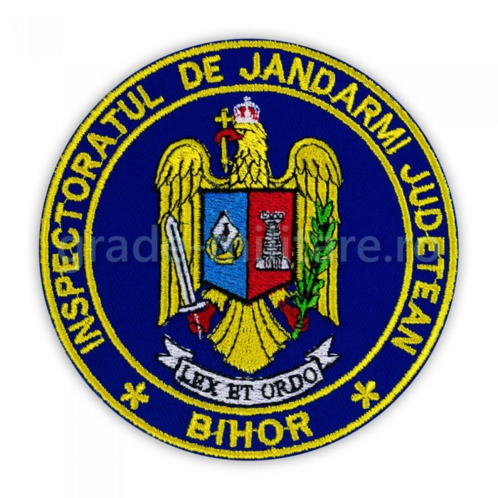 Emblema Inspectoratul de jandarmi judetean Bihor , emblema IJJ Bihor