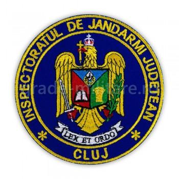 Emblema maneca inspectoratul judetean de jandarmi Cluj