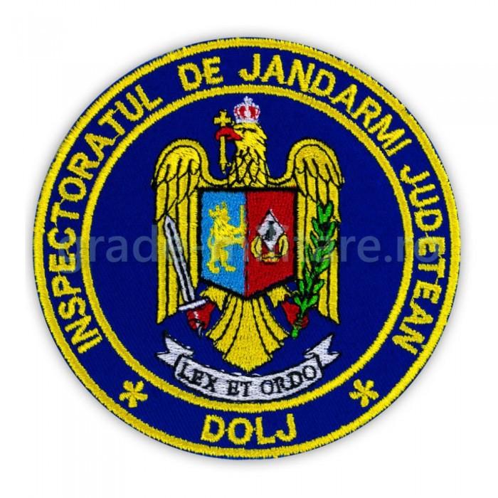 Emblema Inspectoratul de jandarmi judetean Dolj , emblema IJJ Dolj