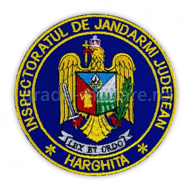 Emblema Inspectoratul de jandarmi judetean Harghita , emblema IJJ Harghita