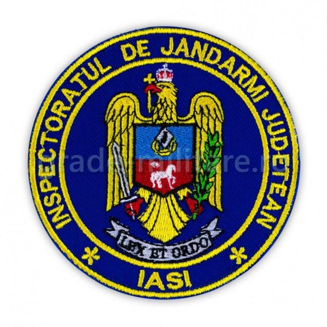 Emblema maneca inspectoratul judetean de jandarmi Iasi
