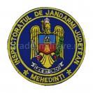 Emblema Inspectoratul de jandarmi judetean Mehedinti , emblema IJJ Mehedinti