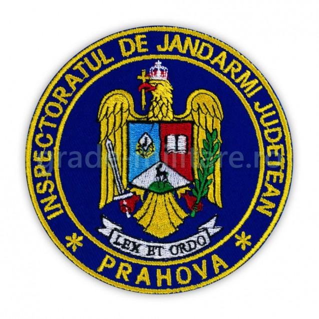 Emblema maneca inspectoratul judetean de jandarmi Prahova