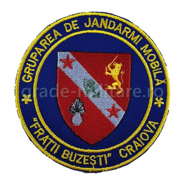 Emblema Gruparea de Jandarmi Mobila Craiova