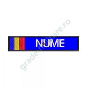 Ecuson Nominal Jandarmerie cu drapel