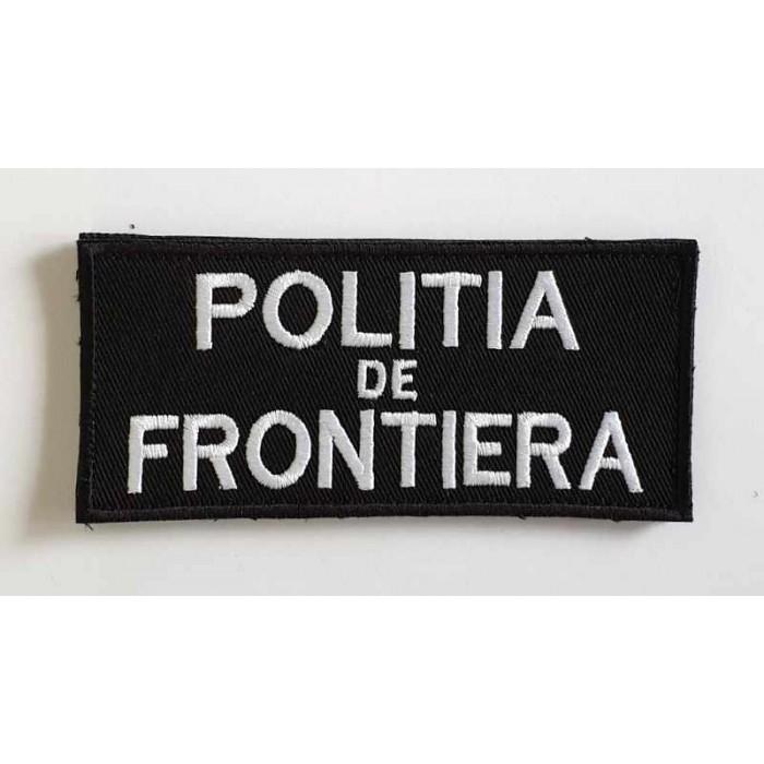 EMBLEMA POLITIA DE FRONTIERA PIEPT 11X5 CM