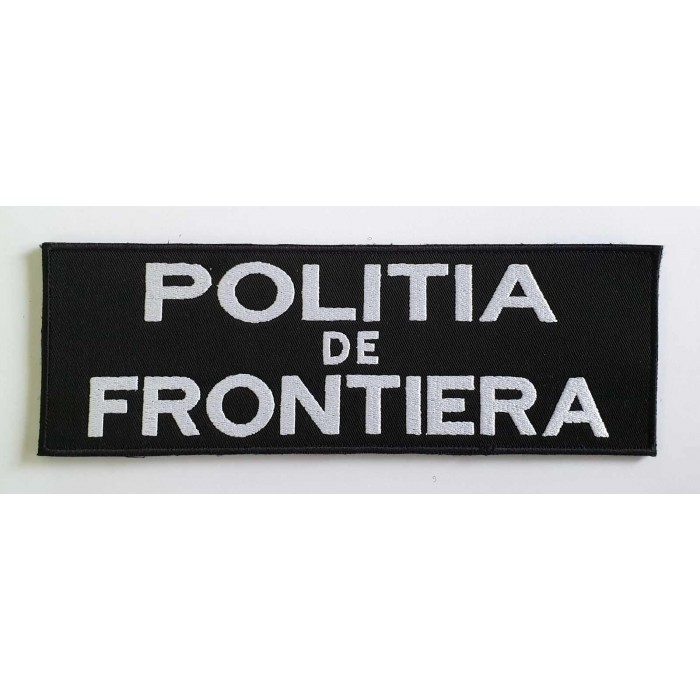 EMBLEMA POLITIA DE FRONTIERA SPATE 24X8CM