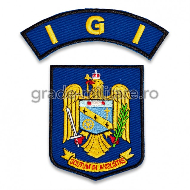 Embleme maneca Inspectoratul general pentru imigrari IGI
