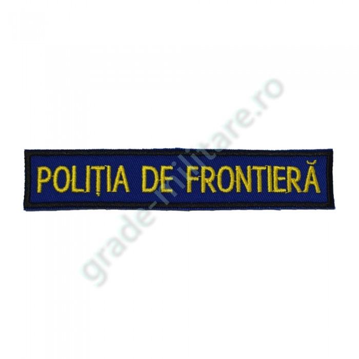 Emblema piept politia de frontiera IGPFR 13x2,5 cm