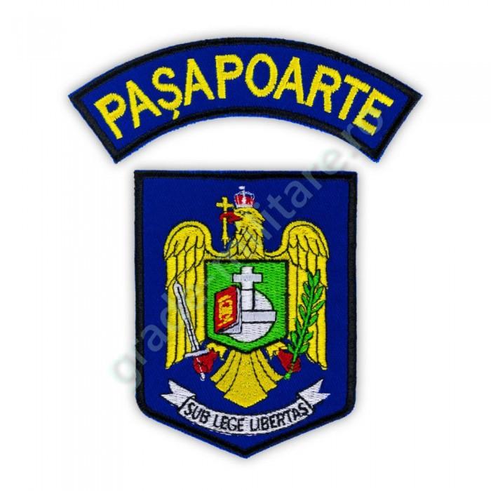 Embleme Directia Generala Pasapoarte