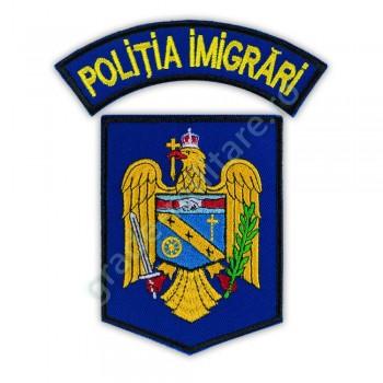 Embleme politia imigrari