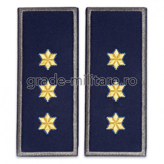 Grade Comisar Sef politia de frontiera contur gri