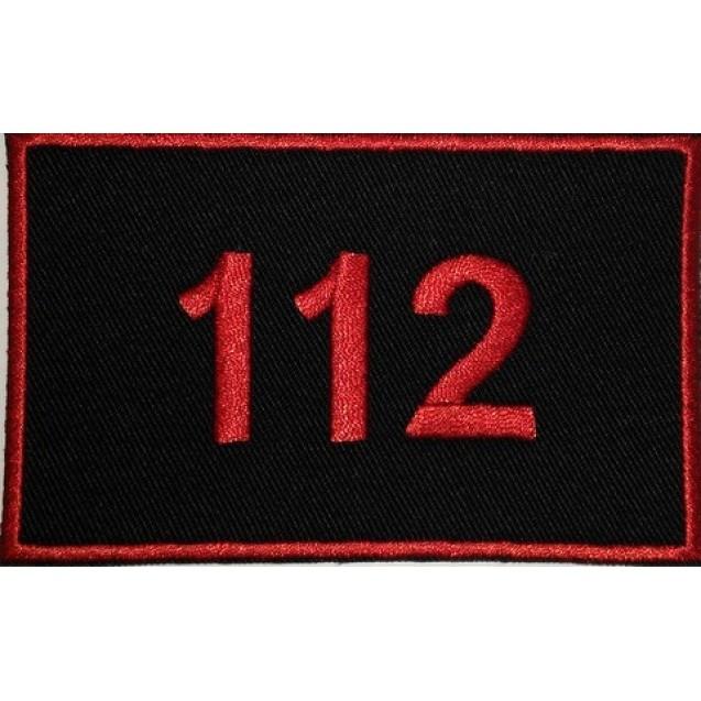 Emblema 112 brodata