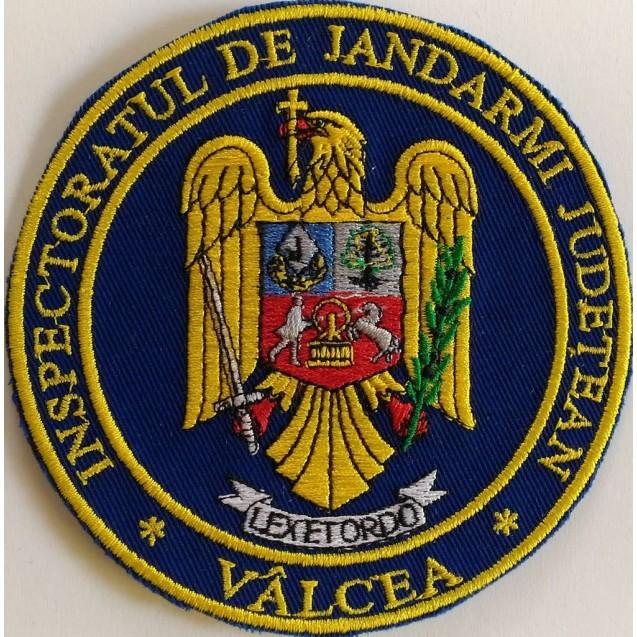 Emblema maneca inspectoratul judetean de jandarmi Valcea