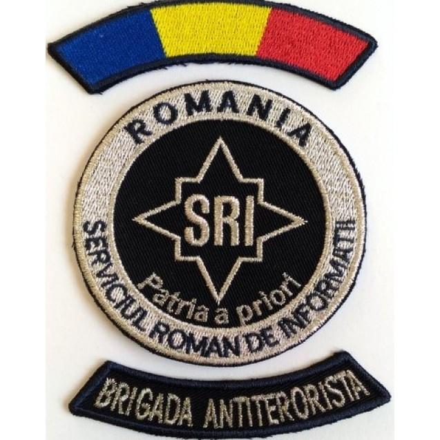 Embleme Serviciul Roman de Informatii SRI, Subofiteri Brigada Antiterorista