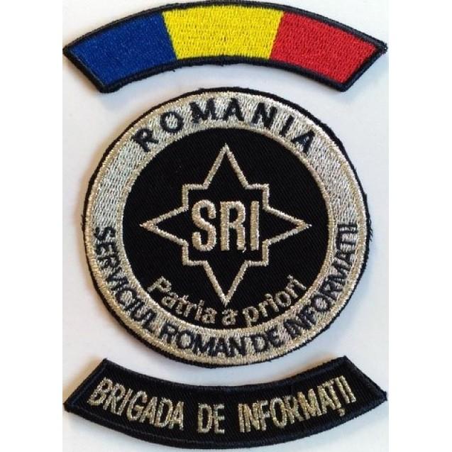Embleme Serviciul Roman de Informatii SRI, Subofiteri Brigada de Informatii